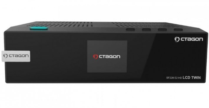 Octagon SF228 E2 HD LCD Twin Linux Combo Receiver 1x DVB-S2 1x DVB-C/T2 Preisvergleich