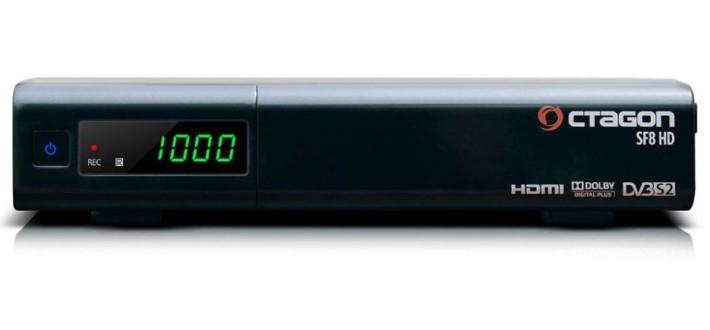 Octagon SF8 HD Linux E2 Sat Receiver schwarz Preisvergleich