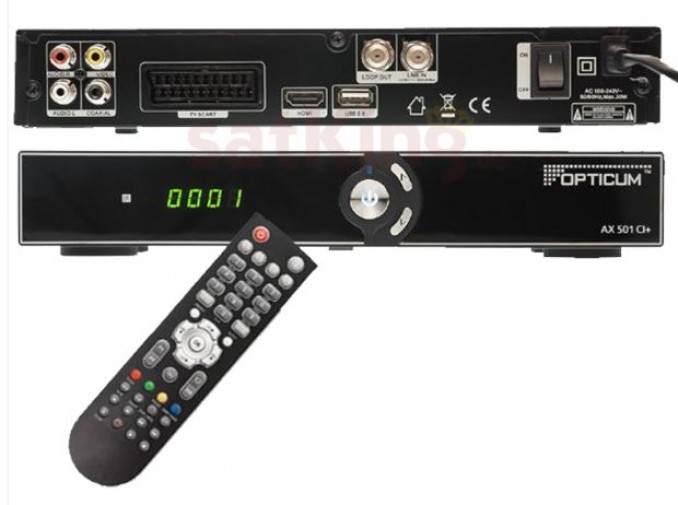 Opticum AX 501 CI+ HD Sat Receiver