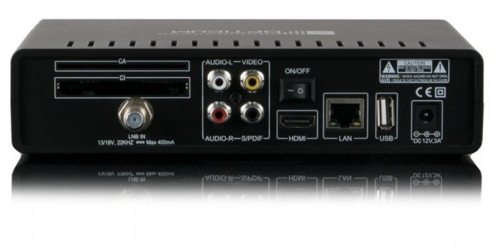 Opticum HD AX Odin Plus Linux E2 Sat Receiver schwarz