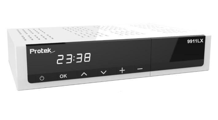 Protek 9911 LX Linux E2 H.265 HEVC HD Receiver 1x DVB-S2 1x DVB-C/T2 Preisvergleich