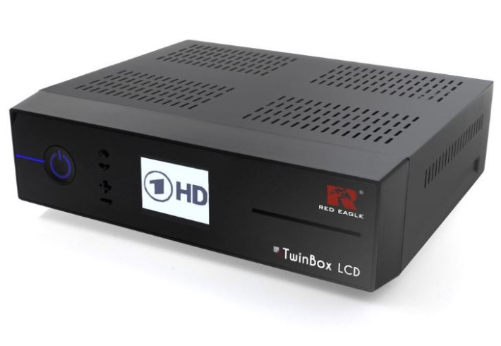 Red Eagle TwinBox LCD Linux E2 Twin HD Sat Receiver 2x DVB-S2