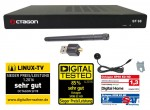 Octagon SF98 Linux E2 HD Sat Receiver + WLAN-Stick
